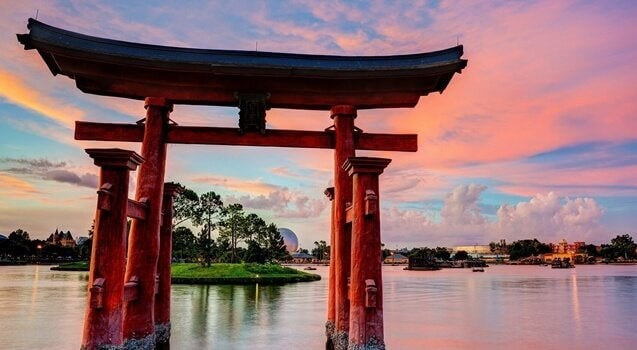 Paisagem no Japão