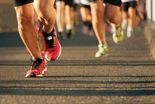 Correr uma maratona: um desafio de mentalização