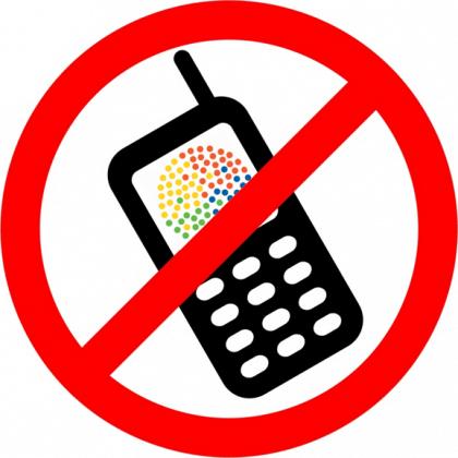 Guarde o celular