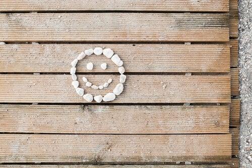 Carinha feliz representando positividade