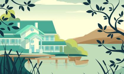 A bela parábola da casa sem dono