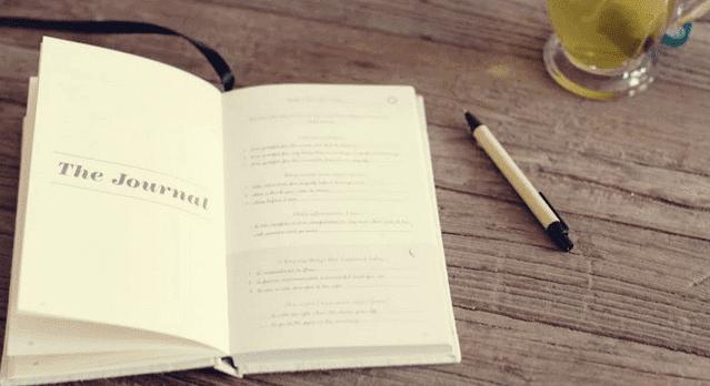 Benefícios de ter um diário