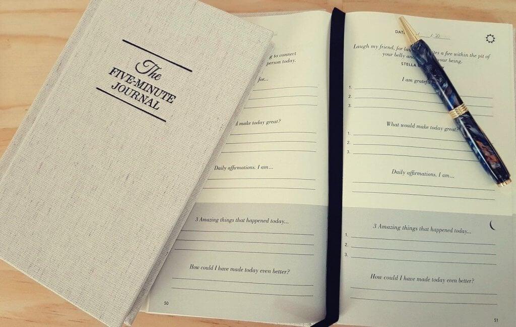 O diário dos 5 minutos