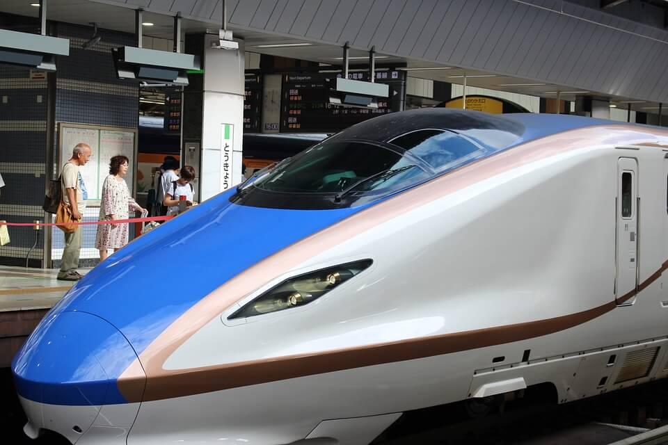 O trem bala japonês