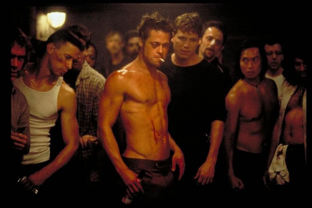 Cena do filme 'Clube da Luta'