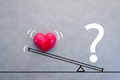 O peso do amor em uma relação