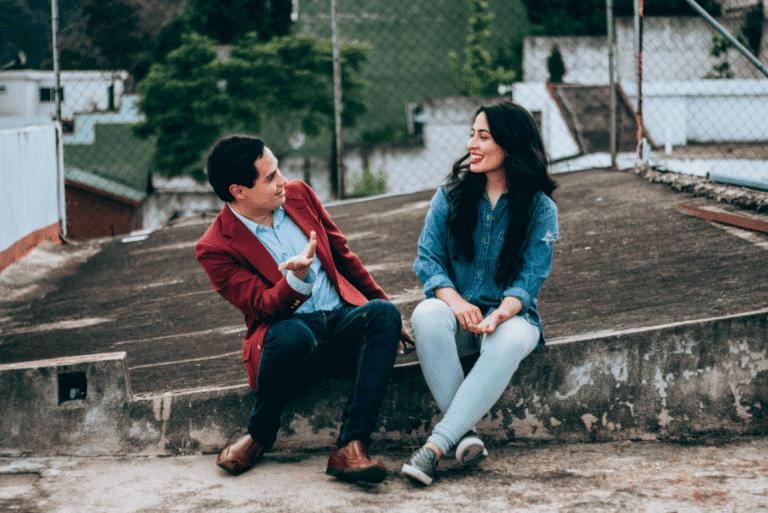 Falar com estranhos pode ser benéfico