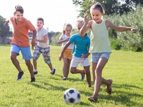 Futebol na infância