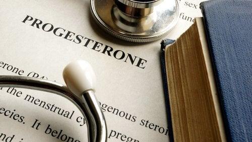 Características principais da progesterona