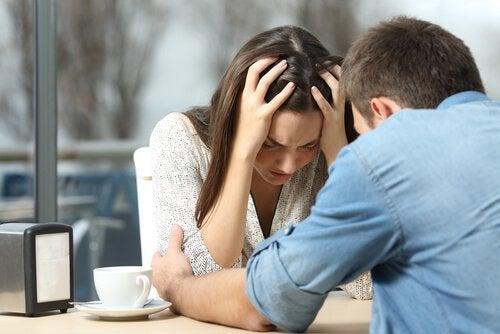 Apoio do parceiro durante um quadro de depressão