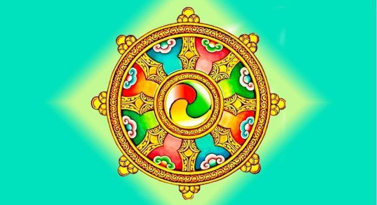 Mandala com características do Dharma
