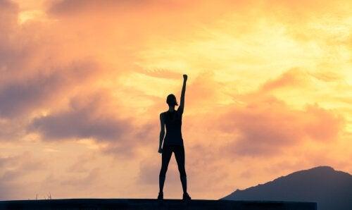 Determinação para conquistar os objetivos
