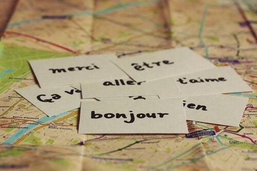 Idiomas estrangeiros