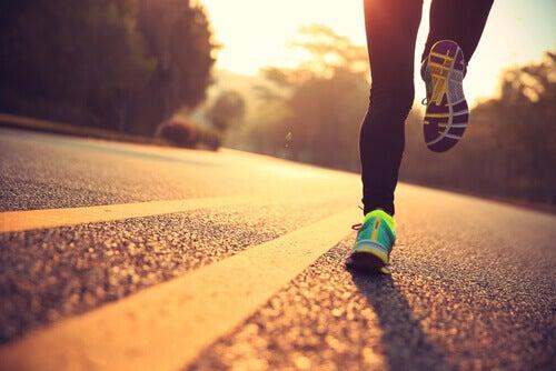 Superar um vício por meio do exercício físico