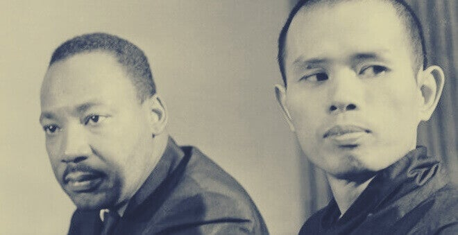 Thich Nhat Hanh e Martin Luther King