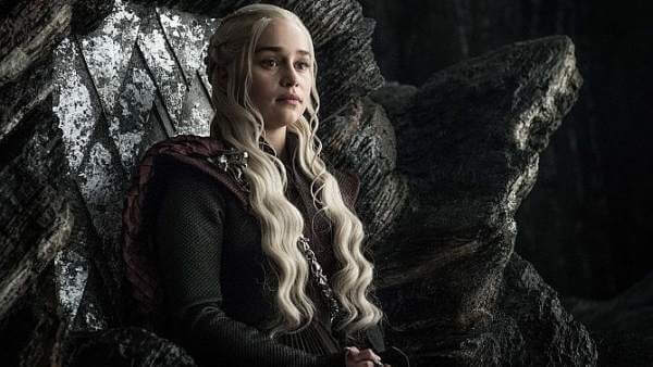Daenerys Targaryen em 'Game of Thrones'