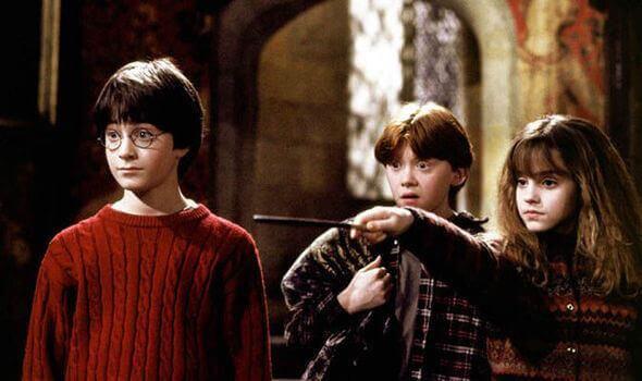 Hermione Granger, Harry e Rony
