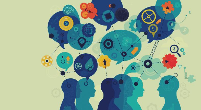 Comunicação e troca de ideias