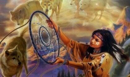 O caçador de sonhos, uma linda lenda do povo lakota