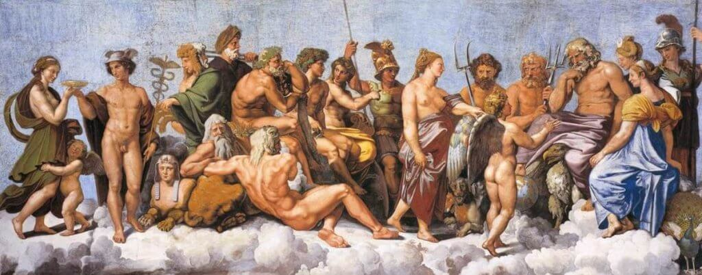 Os personagens que representam o risco na mitologia grega