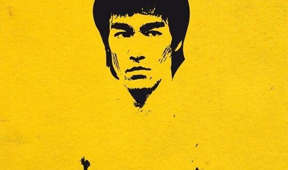 Ilustração de Bruce Lee
