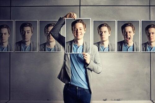 Diferentes tipos de personalidade