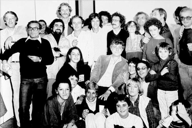 Franco Basaglia com seus pacientes