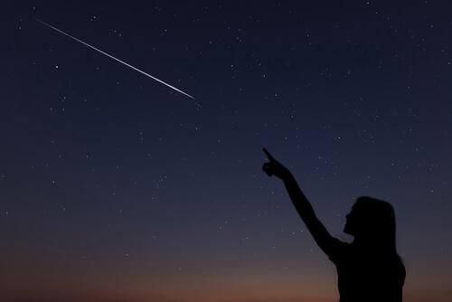 Fazer pedido para estrela cadente