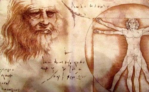 Pensamentos das frases de Leonardo da Vinci