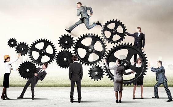 As engrenagens das empresas