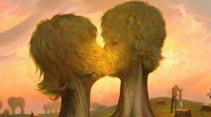 A evolução do amor em uma relação amorosa
