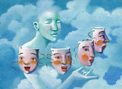 Máscaras das emoções