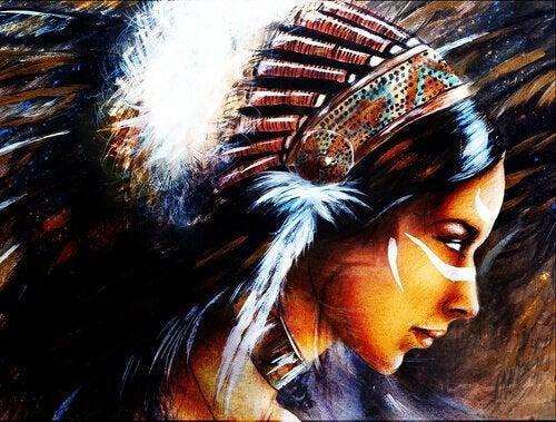 Mulher indígena