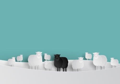 A ovelha negra dentro do grupo