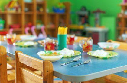 Fazer refeições na escola