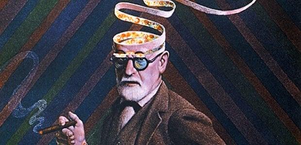 Ilustração de Freud