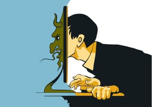 Troll nas redes sociais