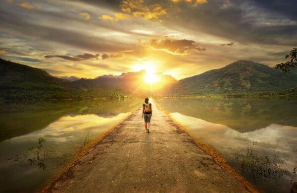 Seguir o seu próprio caminho