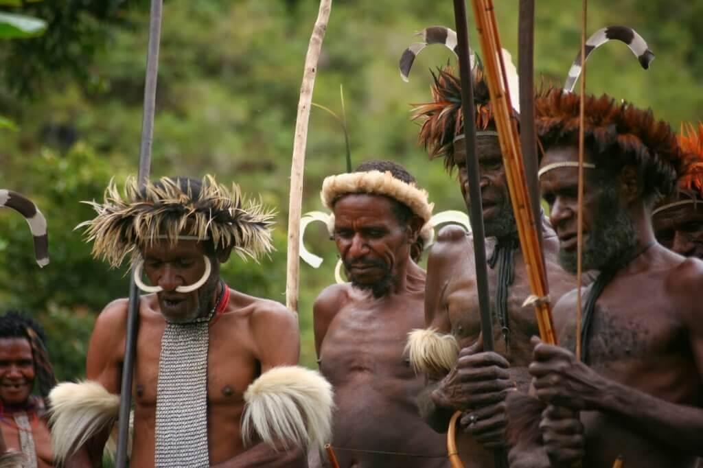 Ritual de tribo isolada