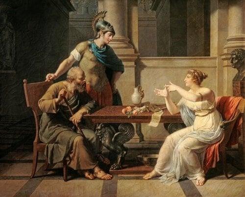 Aspásia de Mileto e Sócrates