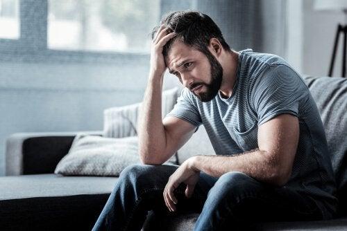 Indícios da depressão em homens