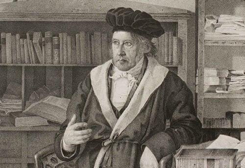 Hegel na biblioteca