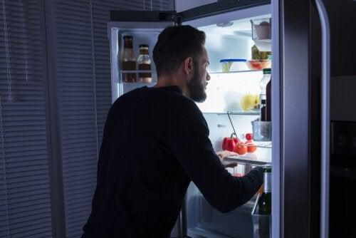 A síndrome da fome noturna