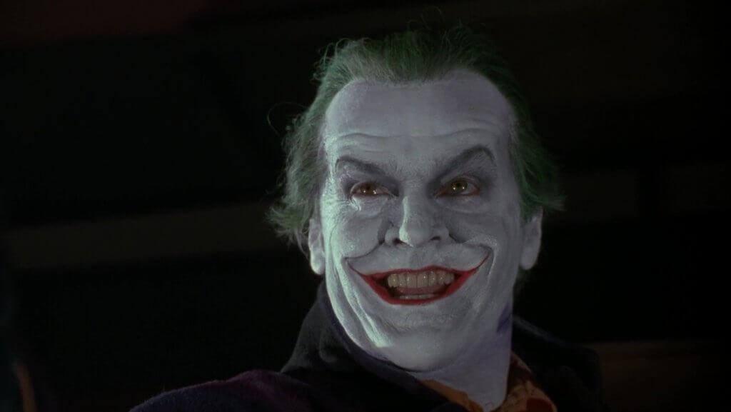 Jack Nicholson como Coringa