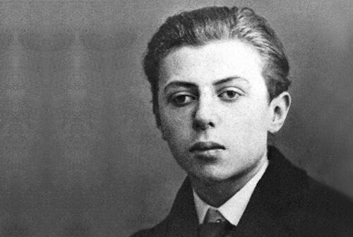 Jean-Paul Sartre quando jovem