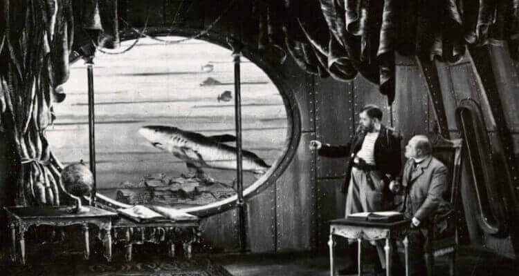 O submarino de Júlio Verne