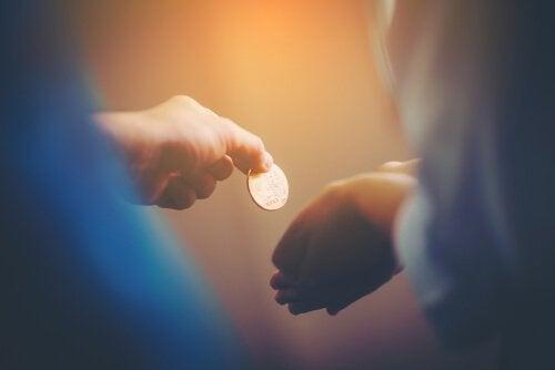 Transação com moeda