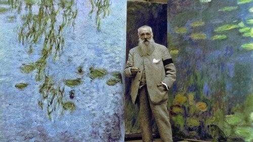 Claude Monet, começos na pintura