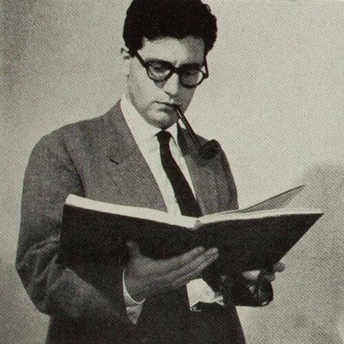 Umberto Eco quando jovem