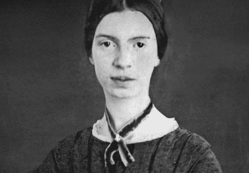 Emily Dickinson quando jovem